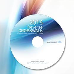 Reverse CROSSWALK 2016 - Multi User CD (30 - 39)