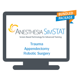 Anesthesia SimSTAT - Trauma, Appendectomy, and Robotic Surgery