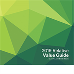 Relative Value Guide 2019 Book